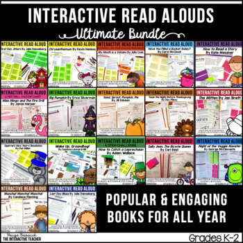 Read Aloud GROWING Bundle for the Year: Lesson Plans and Activities