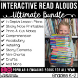 Read Aloud GROWING Bundle for the Year: Lesson Plans and A