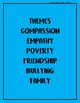 Chapter Book on Kindness, Compassion and Empathy