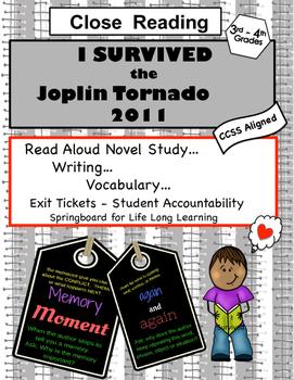 Read Aloud - Close Reading -  I Survived the Joplin Tornad