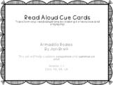 Read Aloud Cue Cards- Armadillo Rodeo by Jan Brett