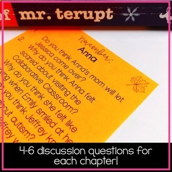 Read Aloud Discussion Questions: Because of Mr. Terupt