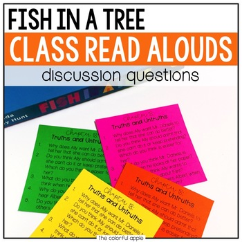 Read Aloud Discussion Questions: Fish in a Tree