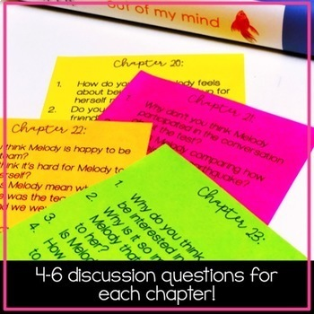 Read Aloud Discussion Questions: Out of My Mind