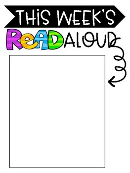Read Aloud Display