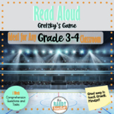 Read Aloud | Gretzky's Game | Grade 3/4 | Lessons and Comp