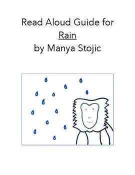 Read Aloud Guide: Rain, Common Core Aligned