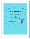 Read Aloud Guide for Misty of Chincoteague