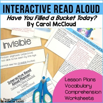 Read Aloud: Have You Filled a Bucket Today?