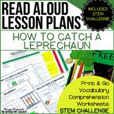 St. Patrick's Day Read Aloud & STEM Challenge: How to Catch a Leprechaun