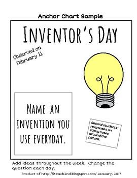 Read Aloud - Inventors