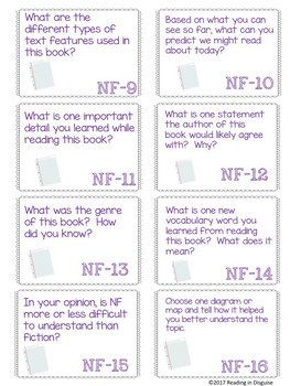 Read Aloud Launch Questions