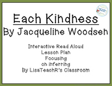 Each Kindness  Interactive Read Aloud Lesson Plan