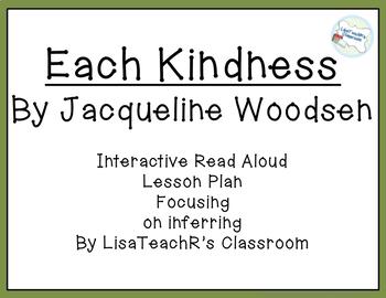 Read Aloud Lesson Plan: Each Kindness
