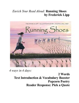Read Aloud Lesson Plan: Running Shoes by Frederick Lipp