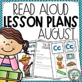 Read Aloud Lesson Plans for August Preschool