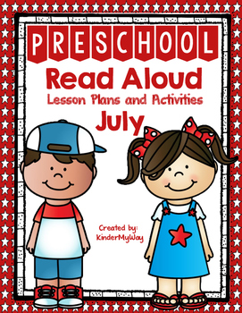 Read Aloud Lesson Plans for July - Preschool