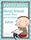 Read Aloud Lesson Plans for June - Preschool
