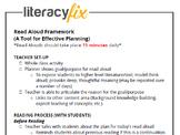 Read Aloud Look-Fors Checklist