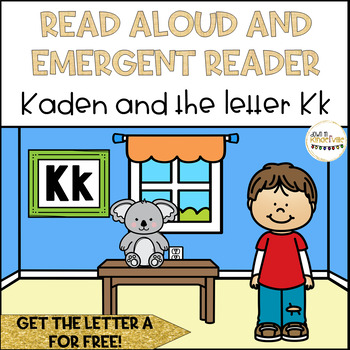 Read Aloud Name Book and Emergent Reader: Letter K