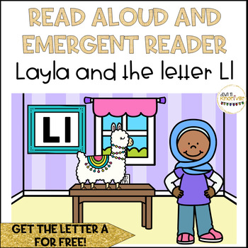 Read Aloud Name Book and Emergent Reader: Letter L