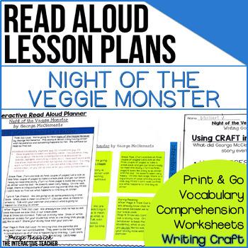 Read Aloud: Night of the Veggie Monster