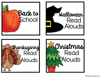 Read Aloud Organization Labels