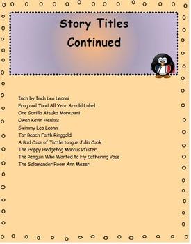 Read Aloud Pack