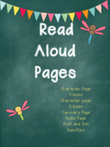 Read Aloud Pages