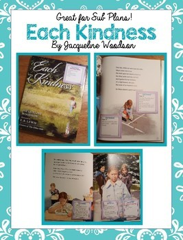 Read Aloud Plans for Each Kindness