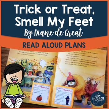Read Aloud Plans for Halloween Text {Trick or Treat, Smell