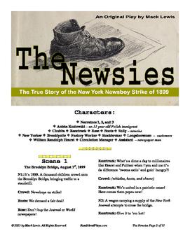 Read Aloud Play: The Newsies--The Newsboy Strike of 1899