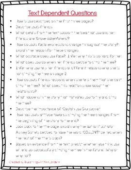 """Read Aloud Activities for """"The Thing Lou Couldn't Do"""""""