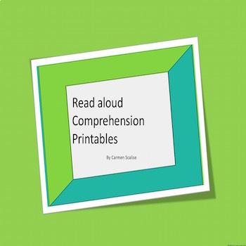 Read Aloud Retelling Printables