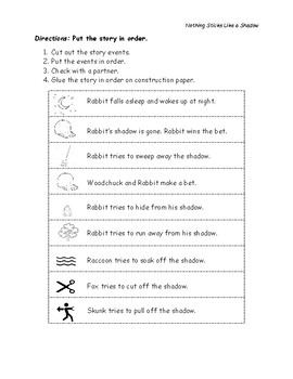 Read Aloud + Science: Grade 1 Shadows