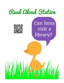 Read Aloud Stations #1