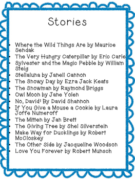 Read Aloud Stories Discussion Questions