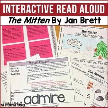 Read Aloud: The Mitten, Interactive Read Aloud Lesson Plans
