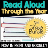 Read Aloud Through the Year 3rd Grade BUNDLE for Distance