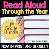 Read Aloud Through the Year 4th Grade Bundle for Distance Learning