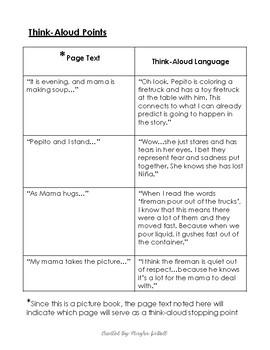 Read-Aloud Tool Kit (Lesson Plan) for The Fire by Annette Griessman