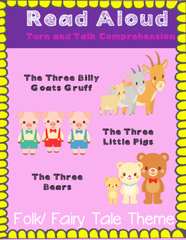 Read Aloud Turn and Talk Comprehension  - Folk and Fairy T