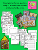 Read Aloud Turn and Talk Comprehension - Gingerbread Man