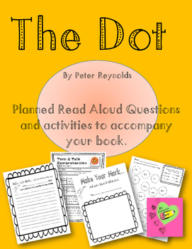Read Aloud Turn and Talk Comprehension - The Dot