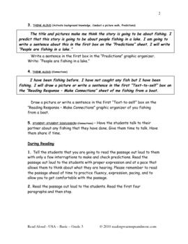 Read Aloud - USA - Basic - Grade 3