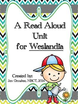 Read Aloud Unit for Weslandia