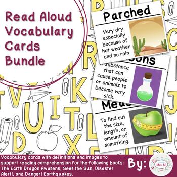 Read Aloud Vocabulary Cards Bundle