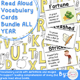 Read Aloud Vocabulary Cards Bundle: All Year 2nd Grade