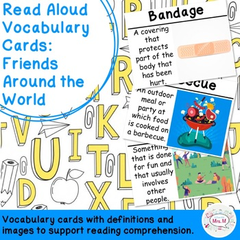 Read Aloud Vocabulary Cards: Friends Around the World
