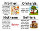 Read Aloud Vocabulary Cards: Johnny Appleseed